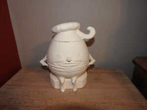 """""""Humpty Dumpty"""" clay piece for painting (2 pieces)"""