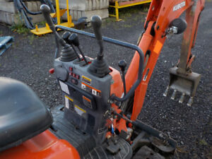 Micro and Mini Excavators Kubota  k008-3 and Kubota u17