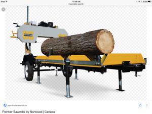 Looking for portable sawmill