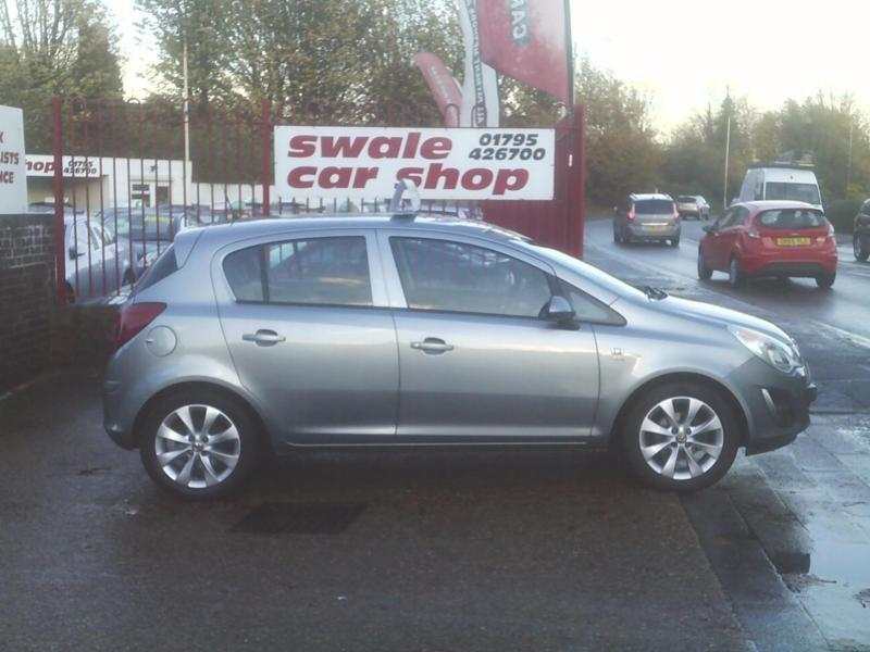 2012 62 Reg Vauxhall Corsa 1.2i 12v 85ps a/c Active 5 Door 1 OWNER FROM NEW