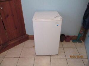 Small upright freezer