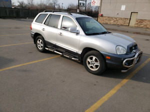 2004 HYUNDAI SANTA FE,CERTIFIED AND E TESTED,154,000 KMS