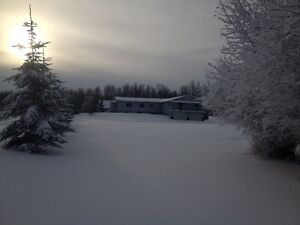 For Rent4000 sq. ft.house on 15 acres. Tawatinaw Valley Ski Hill