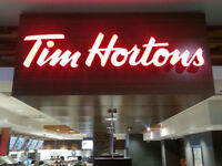 Tim Hortons Baking Opportunity...