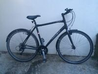 Trek 7.3 FX bike - great commuter hybrid bicycle with lots of new parts and upgrades - 22.5 inches
