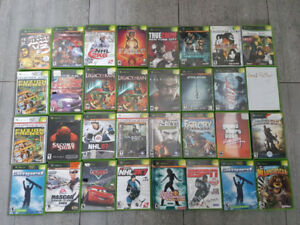 Lot jeux video xbox, ps2,ps3,wii,gamecube, gameboy