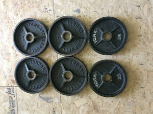 Olympic plates / weights