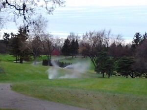 Winter irrigation blow outs