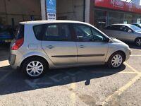 Renault scenic diesel 2007 full history & long mot