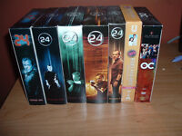 DVD SETS : THE OC s1  / Beverly Hills 90210  s6  / 24 s1 to s5