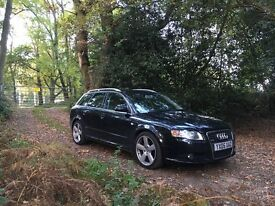 Audi A4 S line estate low milage FSH 11 months MOT