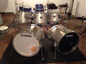 Yamaha Oak Custom 7 morceaux Silver Sparkle