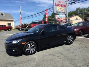 2016 Honda Civic LX  Coupe    FREE 1 YEAR PREMIUM WARRANTY INCLU