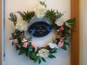 CHEER UP UR DOOR WITH BRAND NEW LARGE HANDCRAFTED WREATHS