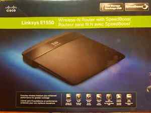 Linksys E1550 Wireless-N Router with Speedboost-great condition!
