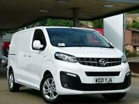 2021 Vauxhall Vivaro L1H1 3100 SPORTIVE S/S Manual Panel Van Diesel Manual