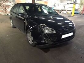 2007 FORD FOCUS 1.6 TDCI BREAKING BLACK 5 DOOR HATCH