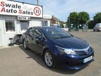 2012 TOYOTA AVENSIS 2.0 D-4D T2 - 103,087 MILES - SERVICE HISTORY - £30 ROAD TAX
