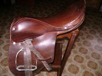 kids english saddle