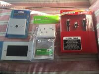 Brand new TV wall mounting accessories - aerial, sockets, cable, faceplate/brushplate