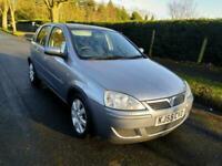 2005 Vauxhall Corsa 1.2i 16V Breeze 5dr Easytronic HATCHBACK Petrol Automatic