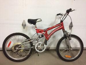 """Vélo 20"""" 6 vitesses pour garcon"""