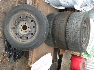 Michelin Snow tires Cambridge Kitchener Area image 1