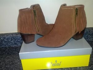 Boots Suede with Fringe