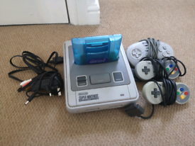 Region Free Super Nintendo SNES + Super Gameboy 2