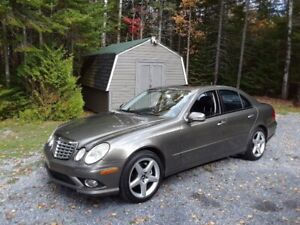 2007 Mercedes E550 4Matic