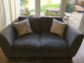 2 x Deep two seater sofas £80 each or £150 for the pair
