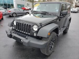 2018 Jeep Wrangler JK Willys / Automatic / Soft Top & Hard Top