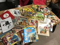 Large Collection Of Western Cowboy Old Comics