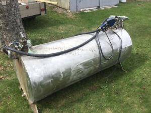 Skid fuel tank