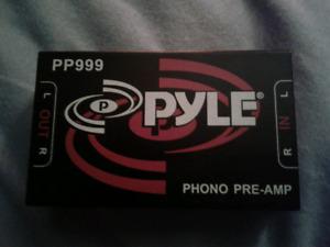 Pyle pre-amp model no. PP999