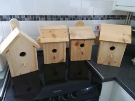 Bird boxes different styles