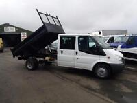 Ford Transit Double cab tipper *Only 34k miles* AA cover & warranty