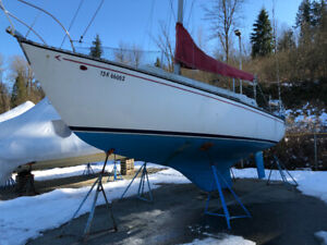 30' Grampian Sail boat, must go, bring offers