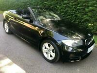 2008 BMW 1 Series 2.0 120I SE 2d 168 BHP Convertible Petrol Manual
