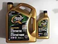 Quacker State 100% Synthetic oil