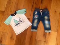 Baby Boy Next Outfit 9/12 months