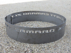 fire pit ring, for Camaro fans