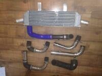 Corsa vxr intercooler + hose's.!!!!!