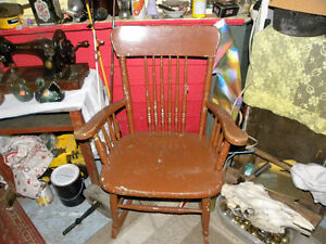 Rocking Chair # 3 Your Minimum offer must be $60.00