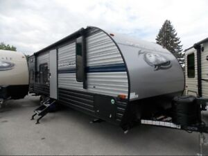2019 Forest River CHEROKEE Grey Wolf 26DJSE