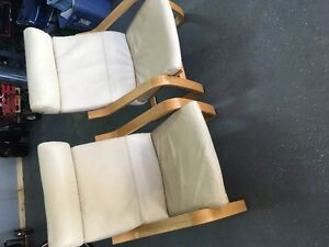 Ikea Poang Chairs $100 for pair