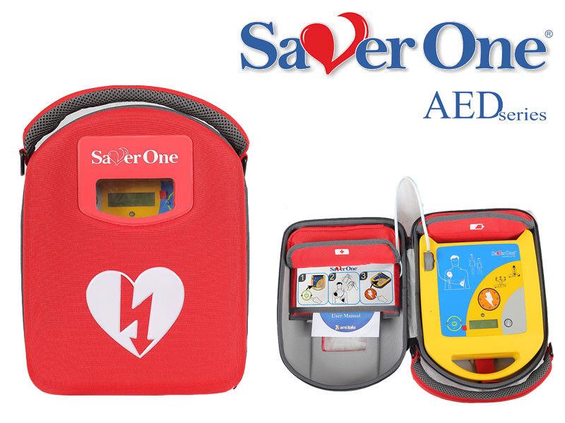 Defibrillator AED Saver One A1 Modell 2020 mit Vollausstattung, autom. Auslösung