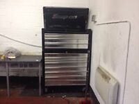 Extra large Genuine snap on top chest and roll cab