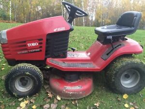 """Toro Riding Lawnmower 38"""" Cut 13HP Bagger Included"""