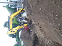 Landscaping and excavation services